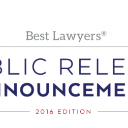 Best Lawyers 2016 Edition Cover Image