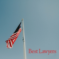 Best Lawyers Logo with American Flag